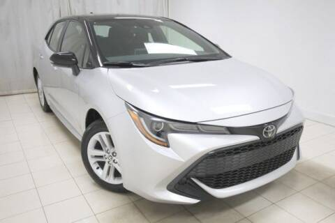 2021 Toyota Corolla Hatchback for sale at EMG AUTO SALES in Avenel NJ