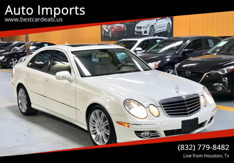 2008 Mercedes-Benz E-Class for sale at Auto Imports in Houston TX