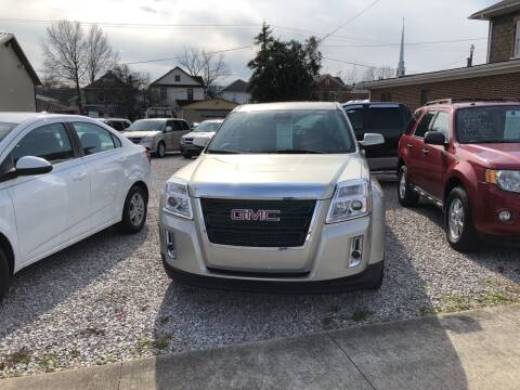 2015 GMC Terrain for sale at ADKINS PRE OWNED CARS LLC in Kenova WV