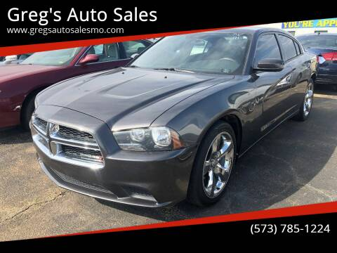 2013 Dodge Charger for sale at Greg's Auto Sales in Poplar Bluff MO
