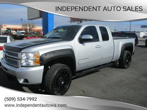 2012 Chevrolet Silverado 1500 for sale at Independent Auto Sales in Spokane Valley WA