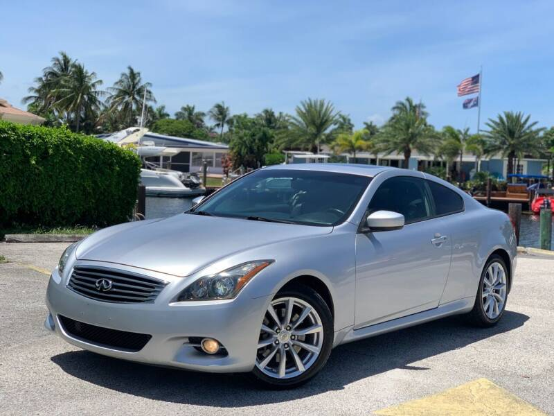 2012 Infiniti G37 Coupe for sale at Citywide Auto Group LLC in Pompano Beach FL