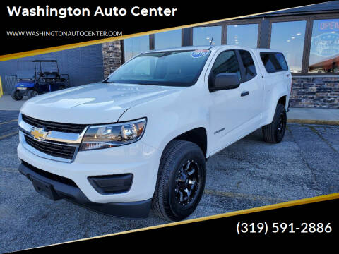 2016 Chevrolet Colorado for sale at Washington Auto Center in Washington IA