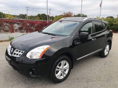2012 Nissan Rogue for sale at D'Ambroise Auto Sales in Lowell MA
