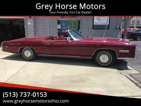 1975 Cadillac Eldorado for sale at Grey Horse Motors in Hamilton OH