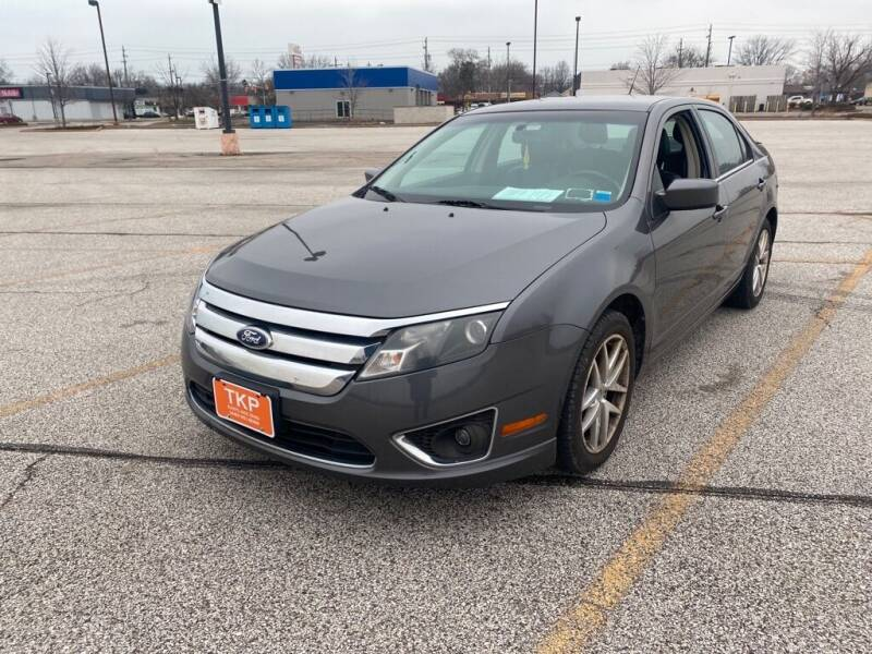 2012 Ford Fusion for sale at TKP Auto Sales in Eastlake OH