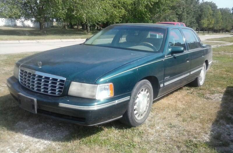 1998 Cadillac DeVille for sale at BRETT SPAULDING SALES in Onawa IA