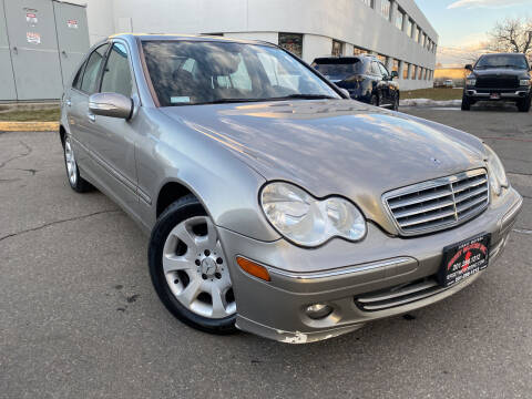 2006 Mercedes-Benz C-Class for sale at JerseyMotorsInc.com in Teterboro NJ