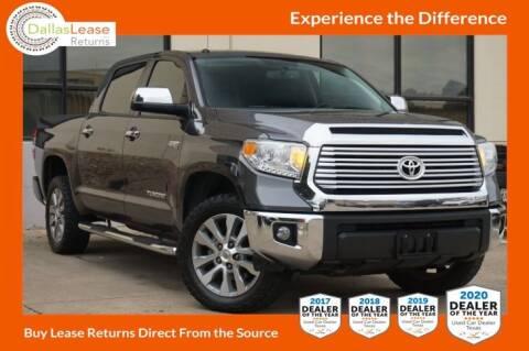 2017 Toyota Tundra for sale at Dallas Auto Finance in Dallas TX