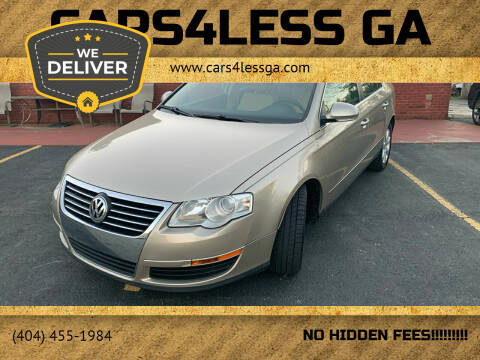 2007 Volkswagen Passat for sale at Cars4Less GA in Alpharetta GA