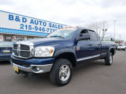 2009 Dodge Ram Pickup 2500 for sale at B & D Auto Sales Inc. in Fairless Hills PA