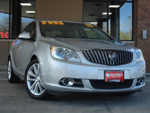 2013 Buick Verano for sale at Arandas Auto Sales in Milwaukee WI