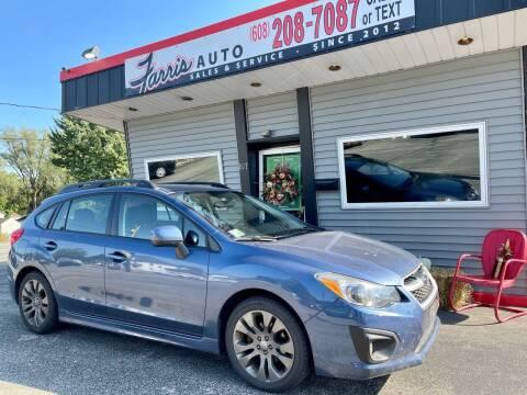 2012 Subaru Impreza for sale at Farris Auto - Main Street in Stoughton WI