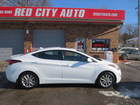 2015 Hyundai Elantra for sale at Red City  Auto in Omaha NE