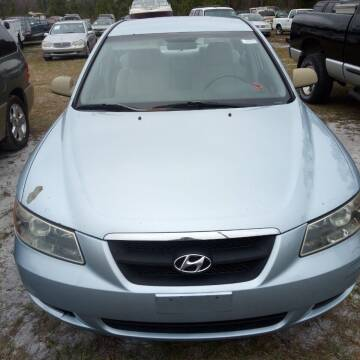 2006 Hyundai Sonata for sale at MOTOR VEHICLE MARKETING INC in Hollister FL