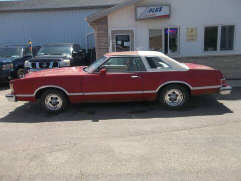 1977 Mercury Cougar for sale at A Plus Auto Sales/ - A Plus Auto Sales in Sioux Falls SD