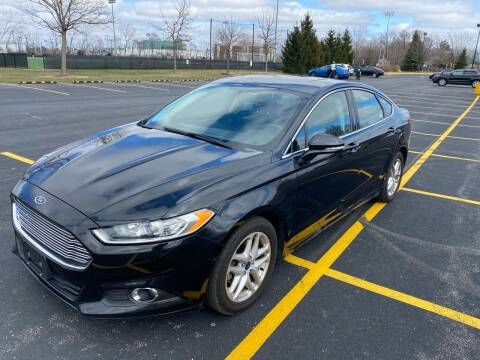 2015 Ford Fusion for sale at Car Stars in Elmhurst IL