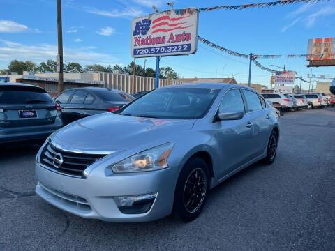 2015 Nissan Altima for sale at Nations Auto Inc. II in Denver CO