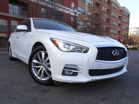 2015 Infiniti Q50 for sale at H & R Auto in Arlington VA
