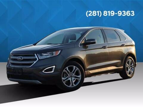 2018 Ford Edge for sale at BIG STAR HYUNDAI in Houston TX