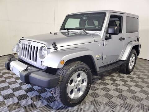 2015 Jeep Wrangler for sale at PHIL SMITH AUTOMOTIVE GROUP - Joey Accardi Chrysler Dodge Jeep Ram in Pompano Beach FL