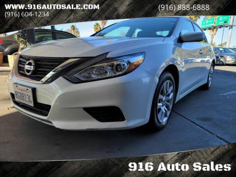 2016 Nissan Altima for sale at 916 Auto Sales in Sacramento CA