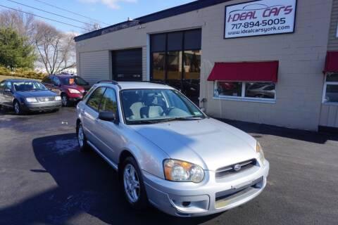 2004 Subaru Impreza for sale at I-Deal Cars LLC in York PA
