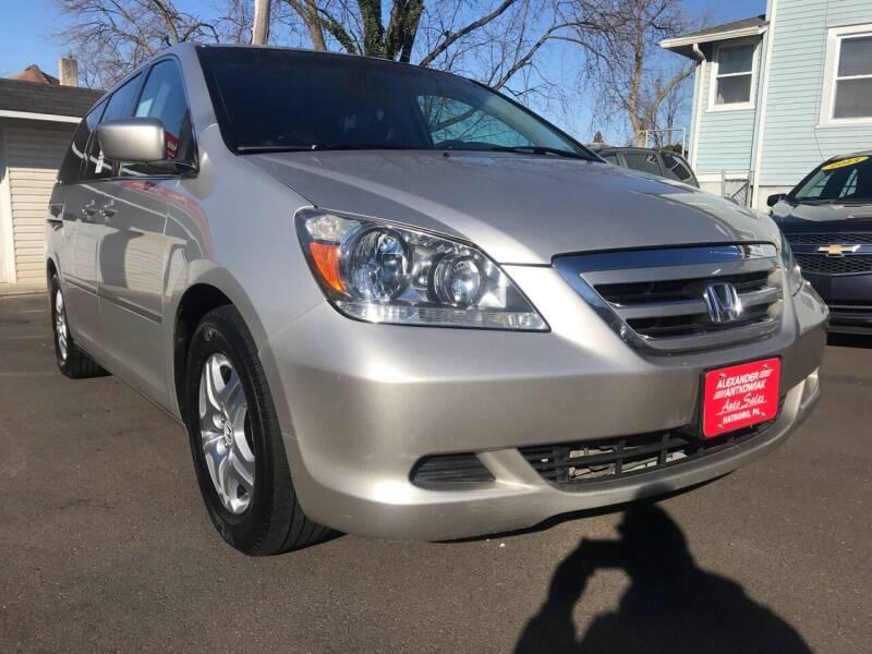 2007 Honda Odyssey for sale at Alexander Antkowiak Auto Sales in Hatboro PA