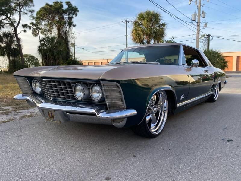 1963 Buick Riviera for sale at American Classics Autotrader LLC in Pompano Beach FL