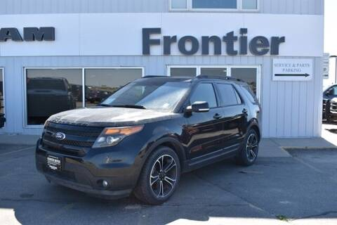 2015 Ford Explorer for sale at Frontier Motors Automotive, Inc. in Winner SD