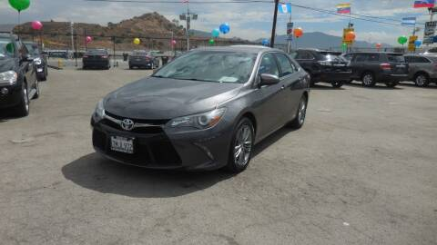 2015 Toyota Camry for sale at Luxor Motors Inc in Pacoima CA