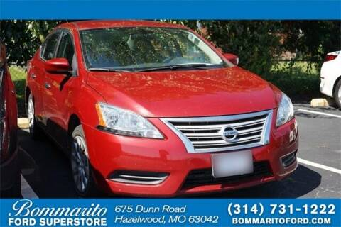 2014 Nissan Sentra for sale at NICK FARACE AT BOMMARITO FORD in Hazelwood MO