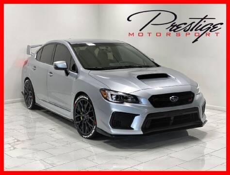 2018 Subaru WRX for sale at Prestige Motorsport in Rancho Cordova CA