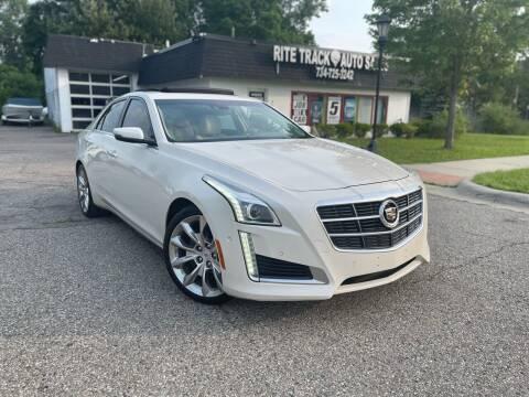 2014 Cadillac CTS for sale at Rite Track Auto Sales in Canton MI