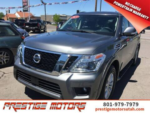 2019 Nissan Armada for sale at Prestige Motors LLC in Salt Lake City UT