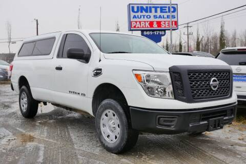 2017 Nissan Titan XD for sale at United Auto Sales in Anchorage AK