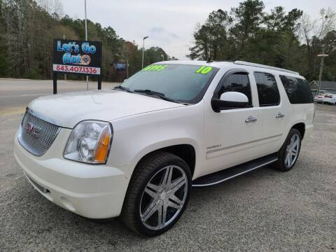 2011 GMC Yukon XL for sale at Let's Go Auto in Florence SC