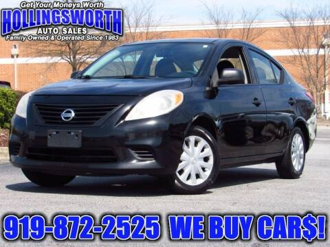 2014 Nissan Versa for sale at Hollingsworth Auto Sales in Raleigh NC