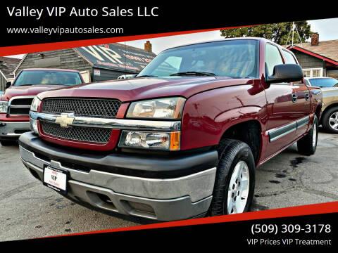 2005 Chevrolet Silverado 1500 for sale at Valley VIP Auto Sales LLC - Valley VIP Auto Sales - E Sprague in Spokane Valley WA