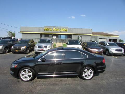 2012 Volkswagen Passat for sale at MIRA AUTO SALES in Cincinnati OH