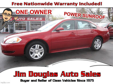 2013 Chevrolet Impala for sale at Jim Douglas Auto Sales in Pontiac MI
