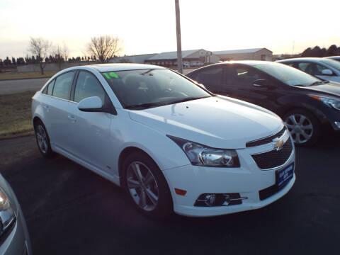 2014 Chevrolet Cruze for sale at G & K Supreme in Canton SD