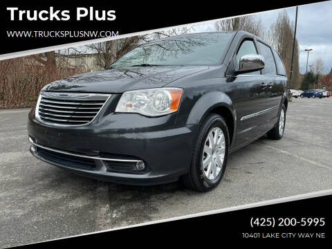 2011 Chrysler Town and Country for sale at Trucks Plus in Seattle WA