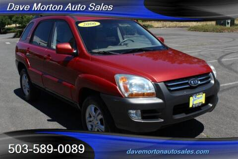 2006 Kia Sportage for sale at Dave Morton Auto Sales in Salem OR