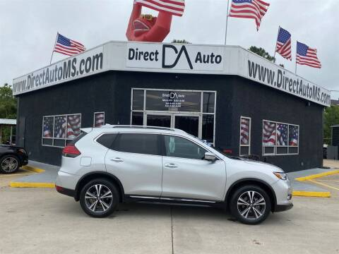 2017 Nissan Rogue for sale at Direct Auto in D'Iberville MS