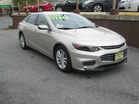2016 Chevrolet Malibu for sale at WORKMAN AUTO INC in Pleasant Gap PA