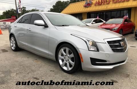 2015 Cadillac ATS for sale at AUTO CLUB OF MIAMI, INC in Miami FL