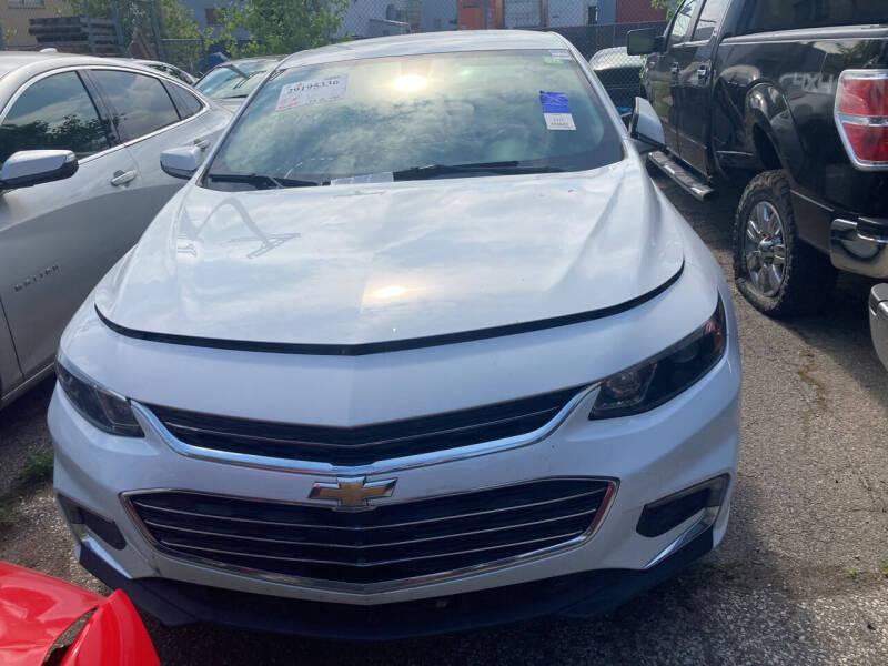 2017 Chevrolet Malibu for sale at ALL TEAM AUTO in Las Vegas NV