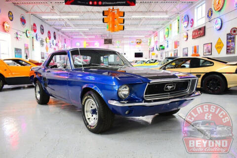 1967 Ford Mustang for sale at Classics and Beyond Auto Gallery in Wayne MI