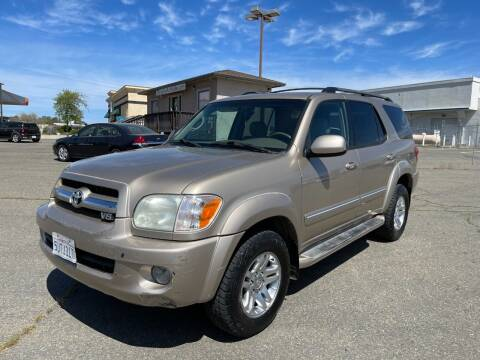 2006 Toyota Sequoia for sale at Deruelle's Auto Sales in Shingle Springs CA
